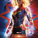 "Captain Marvel 18""x28"" (45cm/70cm) Canvas Print"