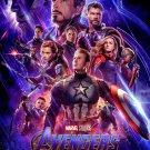 """New Avengers Endgame  13""""x19"""" (32cm/49cm) Polyester Fabric Poster"""