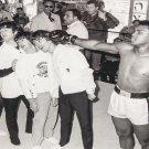 "Muhammad Ali Meets The Beatles 8""x12"" (20cm/30cm) Satin Photo Paper Poster"