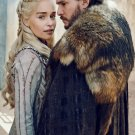 "Game of Thrones Daenerys Jon Snow 8""x12"" (20cm/30cm) Satin Photo Paper Poster"