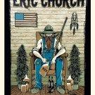 "Eric Church Concert 8""x12"" (20cm/30cm) Satin Photo Paper Poster"