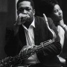 "John Coltrane 13""x19"" (32cm/49cm) Polyester Fabric Poster"