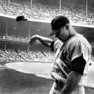 """Mickey Mantle 13""""x19"""" (32cm/49cm) Polyester Fabric Poster"""