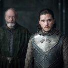 "Game of Thrones Jon Snow Davos 13""x19"" (32cm/49cm) Polyester Fabric Poster"