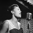 "Billie Holiday 18""x28"" (45cm/70cm) Canvas Print"