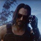 "Cyberpunk 2077 Keanu Reeves 18""x28"" (45cm/70cm) Canvas Print"
