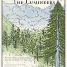 "The Lumineers Tour Concert 24""x35"" (60cm/90cm) Canvas Print"