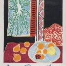 "Henri Matisse Nice Travail et Joie 13""x19"" (32cm/49cm) Polyester Fabric Poster"
