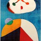 "Joan Miro Pittura Firenze Orsanmichele 13""x19"" (32cm/49cm) Polyester Fabric Poster"