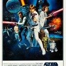 """Star Wars Vintage 13""""x19"""" (32cm/49cm) Polyester Fabric Poster"""