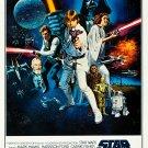 "Star Wars Vintage 24""x35"" (60cm/90cm) Canvas Print"