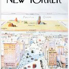 """The New Yorker 1976  13""""x19"""" (32cm/49cm) Polyester Fabric Poster"""