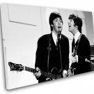 "Paul McCartney John Lennon 14""x22"" (35cm/55cm) Canvas Print"