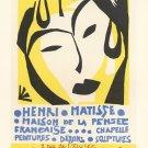 """Henri Matisse Maison de la Pensee 24""""x35"""" (60cm/90cm) Canvas Print"""