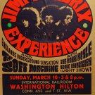 """Jimi Hendrix Experience Concert Tour 18""""x28"""" (45cm/70cm) Canvas Print"""