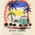 "Joan Miro Constellations Berggruen Paris 13""x19"" (32cm/49cm) Polyester Fabric Poster"