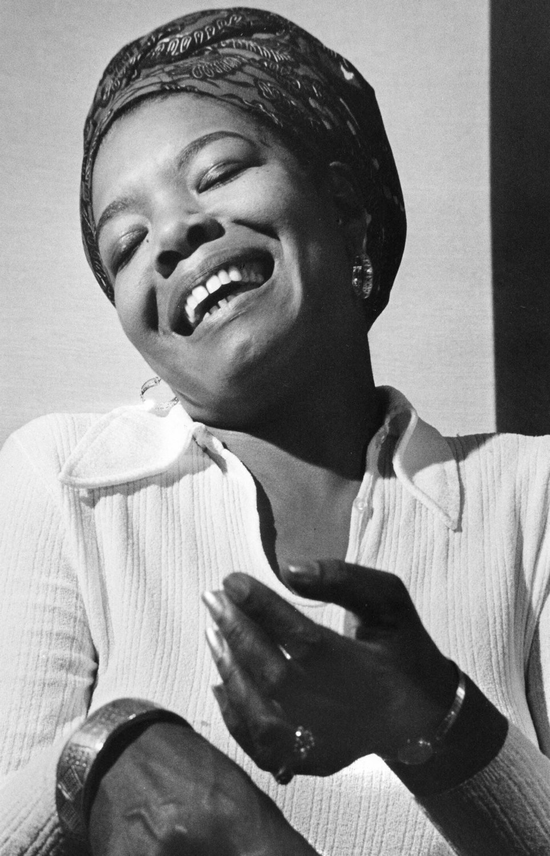 "Maya Angelou 18""x28"" (45cm/70cm) Canvas Print"
