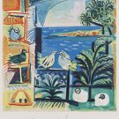 """Pablo Picasso Cote D'Azur 24""""x35"""" (60cm/90cm) Canvas Print"""