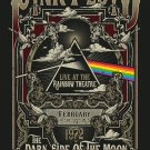 "Pink Floyd the Dark Side of The Moon Concert Tour 13""x19"" (32cm/49cm) Polyester Fabric Poster"