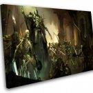 """Diablo 4 12""""x16"""" (30cm/40cm) Canvas Print"""
