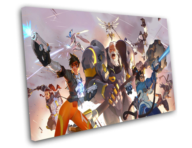 "Overwatch 2 12""x16"" (30cm/40cm) Canvas Print"