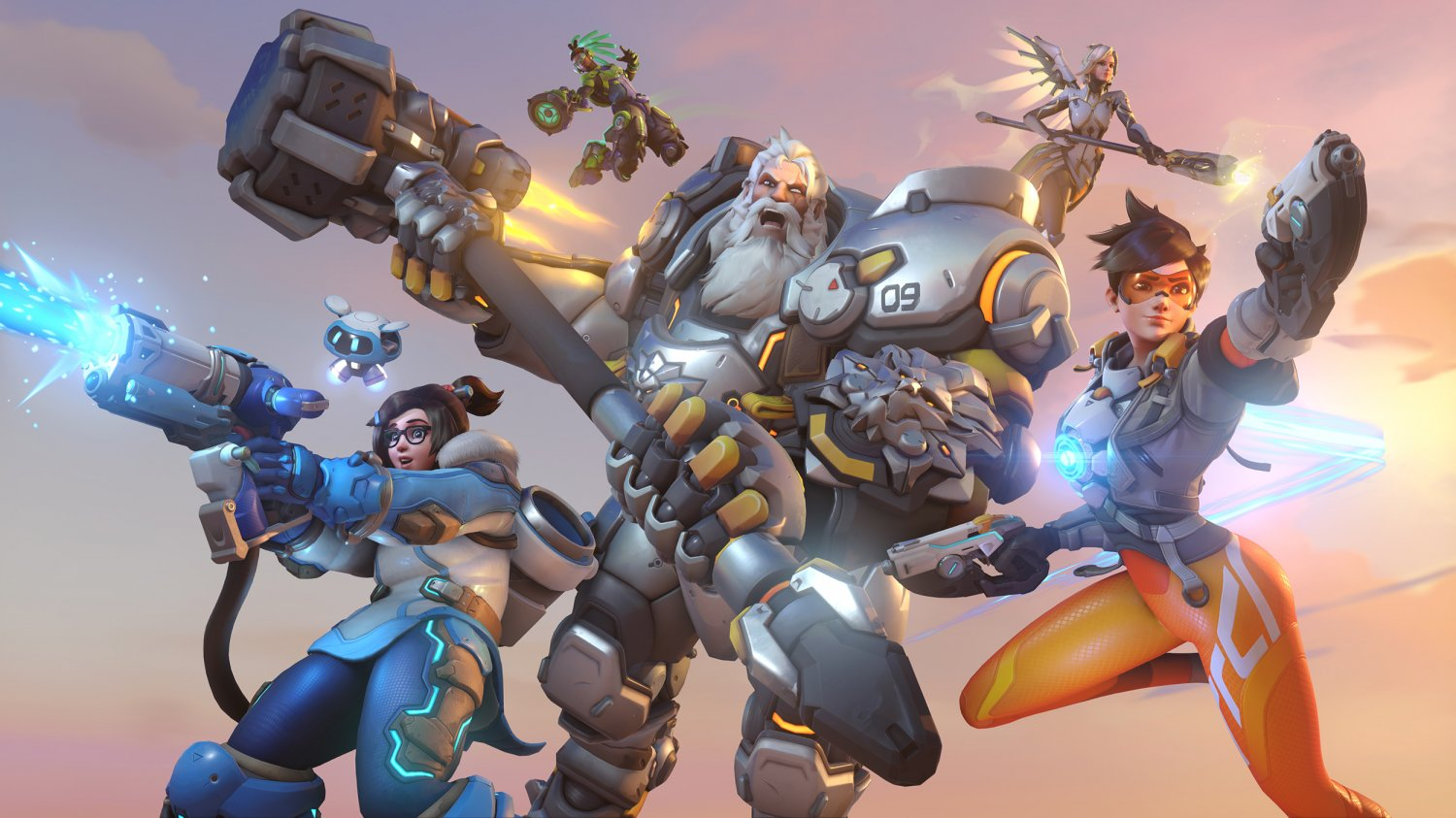 "Overwatch 2 18""x28"" (45cm/70cm) Canvas Print"