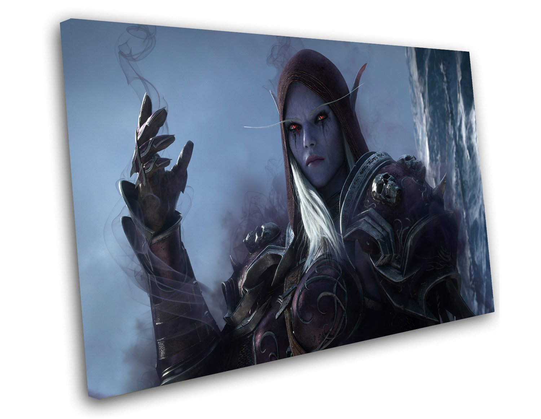 "World of Warcraft Shadowlands 14""x20"" (35cm/51cm) Canvas Print"