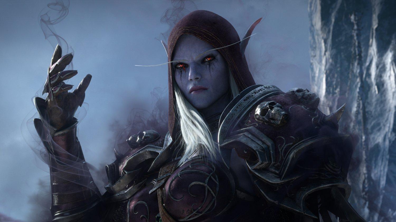 "World of Warcraft Shadowlands 24""x35"" (60cm/90cm) Canvas Print"