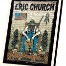 "Eric Church Concert Tour 14""x20"" (35cm/51cm) Canvas Print"