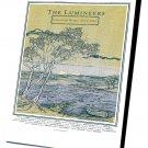 "The Lumineers Tour Concert 14""x20"" (35cm/51cm) Canvas Print"