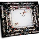 "Muhammad Ali vs Cleveland Williams 18""x18"" (45cm/45cm) Canvas Print"