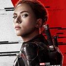 "Black Widow 2020 Natasha Romanoff Scarlett Johansson 18""x28"" (45cm/70cm) Canvas Print"