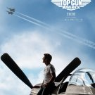 "Top Gun Maverick Tom Cruise 18""x28"" (45cm/70cm) Canvas Print"