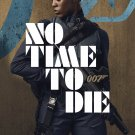 """No Time to Die James Bond 007 Daniel Craig 18""""x28"""" (45cm/70cm) Canvas Print"""