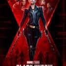"Black Widow Scarlett Johansson 24""x35"" (60cm/90cm) Canvas Print"