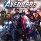 "Marvel's Avengers Game 24""x35"" (60cm/90cm) Canvas Print"