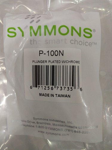 """Symmons Pop�Up Plug 4�1/8"""" Length P�100N Drain Plunger Replacement"""