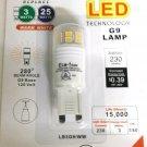 Cyber Tech LB3G9/WW 3W LED G9 Lamp Warm White 230 lumens 120 volt