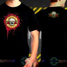 Black Concert T Shirt Guns N Roses  S to 3XL A7