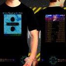 Black Concert T Shirt Ed Sheeran S to 3XL A9