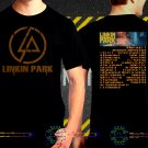 Linkin Park One More Light Tour Date 2017  Black Concert T Shirt S to 3XL A36