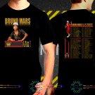 Bruno Mars 24K Magic World Tour Date 2017  Black Concert T Shirt S to 3XL A54