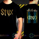 Styx United We Rock Tour Date 2017  Black Concert T-Shirt S to 3XL Styx3