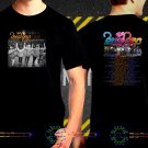 The Beach Boys Tour Date 2017  Black Concert T-Shirt S to 3XL TBB4