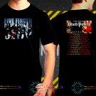 Five Finger Death Punch Tour Date 2017  Black Concert T-Shirt S to 3XL FFDP1