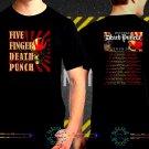 Five Finger Death Punch Tour Date 2017  Black Concert T-Shirt S to 3XL FFDP8