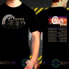 Chicago Band Tour Dates 2018 Black Concert T-Shirt S to 3XL Sizes 2C6