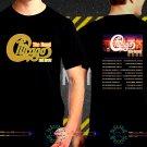 Chicago Band Tour Dates 2018 Black Concert T-Shirt S to 3XL Sizes 2C7