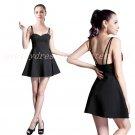 Chic Spaghetti Straps Little Black Dress