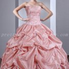 Cute Sweetheart Ball Gown Pearl Pink Quinceanera Dresses